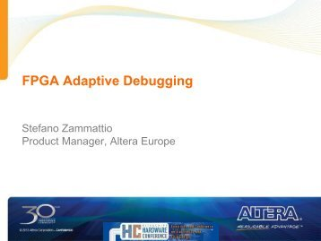 FPGA Adaptive Debugging - Hardware Conference
