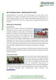 Abenteuerland Spiekeroog - GCE