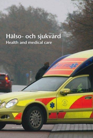 Hälso- och sjukvård (pdf) - Statistiska centralbyrån