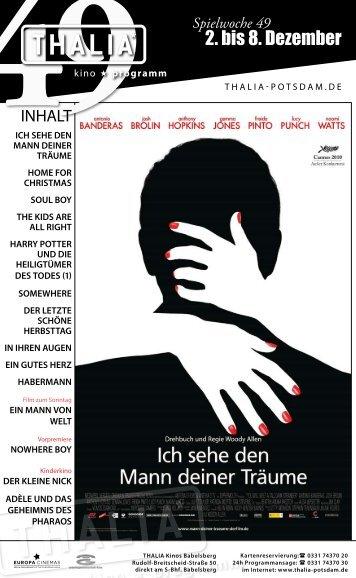 2. bis 8. Dezember - Thalia Kino