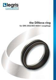 the DiNova ring for DIN 2353/ISO 8434-1 couplings - Normapress