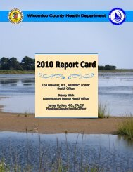 2010 - Wicomico County Health Department