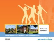 Gardencrest Apartments Printable Brochure ... - Apartments For Rent