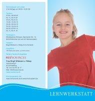 LERNWERKSTATT - WIN-FUTURE - ein Bildungsnetzwerk