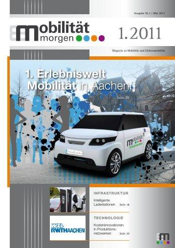 Ausgabe 1.2011 - mobilitaet.biz