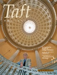 Architectural Heritage - The Taft School
