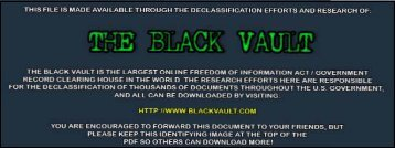 (DoD) Space Programs and Activities - The Black Vault