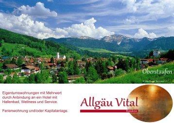 Allgäu Vital Residenz - Allgäu Vital - home