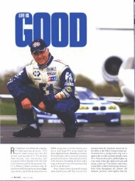 Roundel Life is Good - RJ Valentine Racing and Business