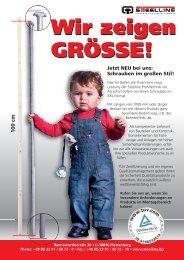 Wir zeigen Grösse! - Steelline Profiltechnik GmbH
