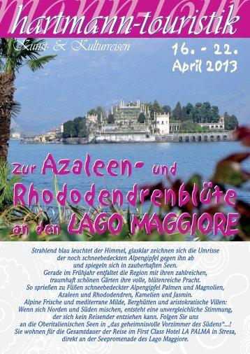 22.04.2013 Lago Maggiore - hartmann-touristik