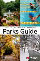 Parks Guide - City of Oklahoma City