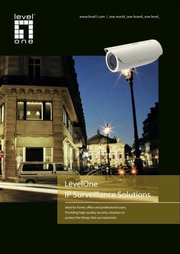 LevelOne IP Surveillance Solutions