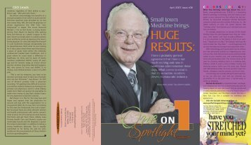 Spotlight — April 2007 - Perfect Image