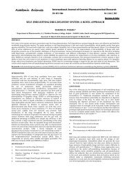 self-emulsifying drug delivery system: a novel approach