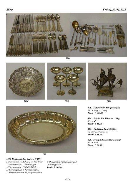 42. Auktion Auktionsvorschau
