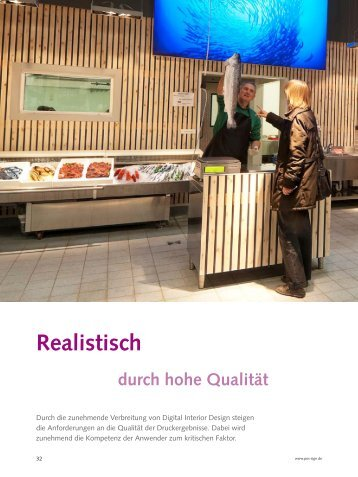 Realistisch durch hohe Qualität - POS+SIGN