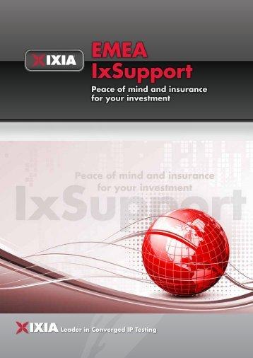 EMEA IxSupport - Ixia