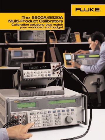 The 5500A/5520A Multi-Product Calibrators - Adler Instrumentos