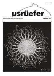 4. Ausgabe Dezember 2011 - Staufen