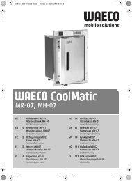 MR-07, MH-07 - Waeco