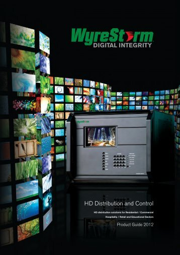 HD Distribution and Control - audio network Distribution GmbH & Co ...