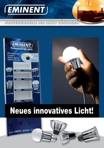 Neues innovatives Licht! - Eminent