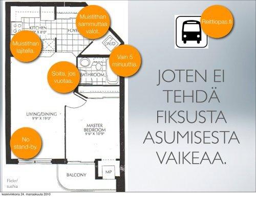 Asukkaan testi (pdf) - Peloton