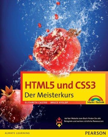 HTML5 und CSS3 - Pearson Bookshop - Pearson Deutschland