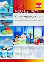 September 13 - Carl Roth
