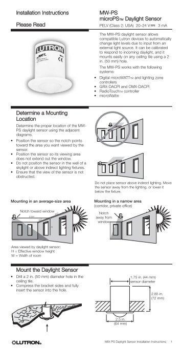 Lutron Ecosystem Wiring Diagram