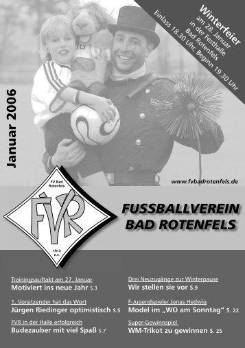 aktuell - FV Bad Rotenfels