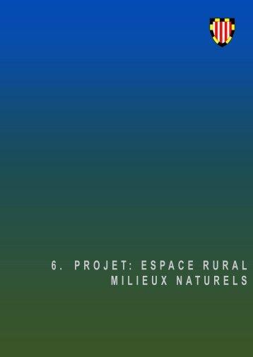 6. projet: espace rural, milieux naturels - Etat de Genève