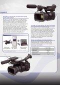 SxS-1-Speicherkarte speziell für XDCAM EX Der ... - Teltec - Seite 3