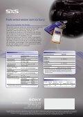 SxS-1-Speicherkarte speziell für XDCAM EX Der ... - Teltec - Seite 4