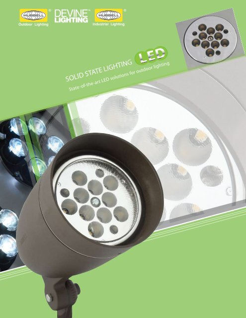 LED - Solid State Lighting Brochure - Hubbell Industrial Lighting