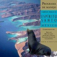 ESPÍRITU S A N T O - área de protección de flora y fauna islas del ...