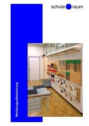 Werkzeugaufbewahrung - AG für Schule & Raum