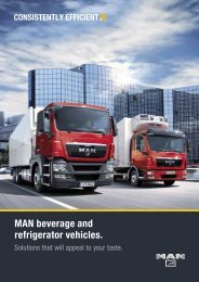 Refrigerated and drinks vehicles (3 MB PDF) - MAN Truck Forum