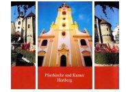 Kirchenführer Pfarrkirche und Karner - Stadtpfarre Hartberg