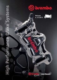 Brembo & Marchesini Motorcycle Catalog 2012 - distributed by OPP Racing