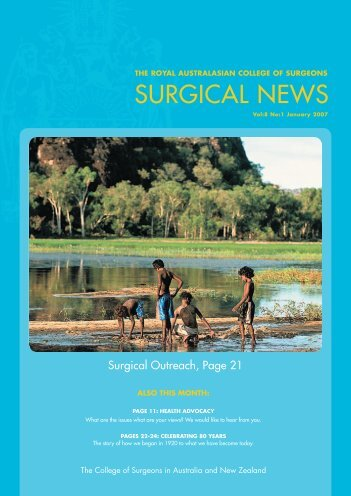 Surgical News - Royal Australasian College of Surgeons