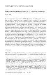 Die Berufsstruktur der Abgeordneten des 17. Deutschen Bundestages