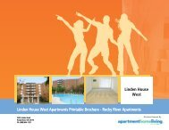 Linden House West Apartments Printable ... - Apartments For Rent