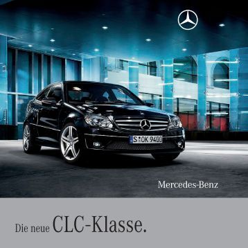 die clc klasse mercedes benz. Black Bedroom Furniture Sets. Home Design Ideas