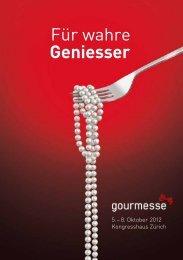 Download Messebroschüre - Gourmesse