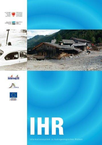 Informationssystem zu hydrogeologischen Risiken