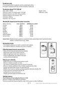 Návod k použití - tv products cz - Page 3