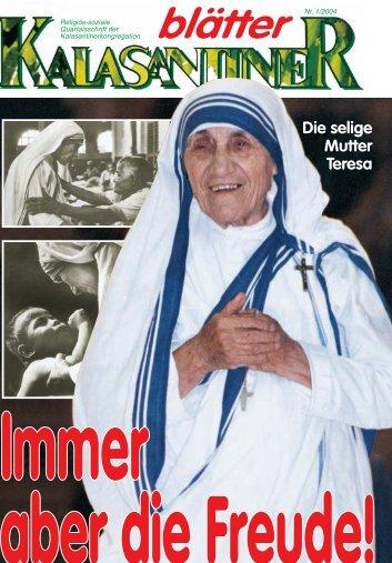 Die selige Mutter Teresa