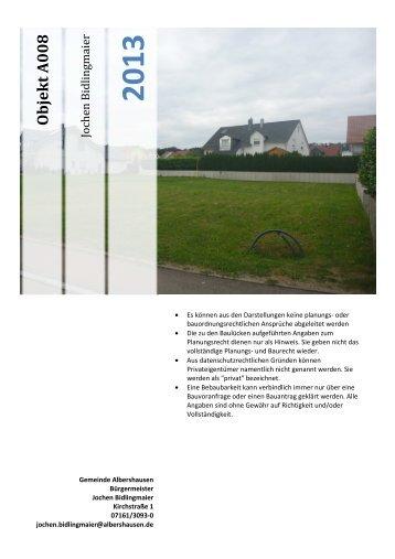 Objekt A008 - Albershausen